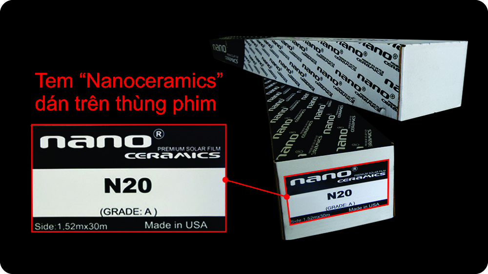Nano Ceramics - Cách nhận biết phim cách nhiệt thật giả