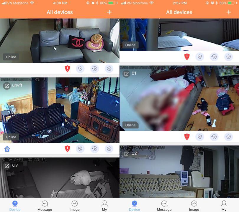 Camera ip wifi - lộ cả cảnh giường chiếu - Phim cách nhiệt